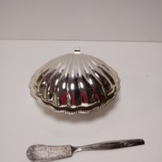 Antigüedades: CONCHA PORTA CAVIAR MADE IN ENGLAND. Lote 137890908