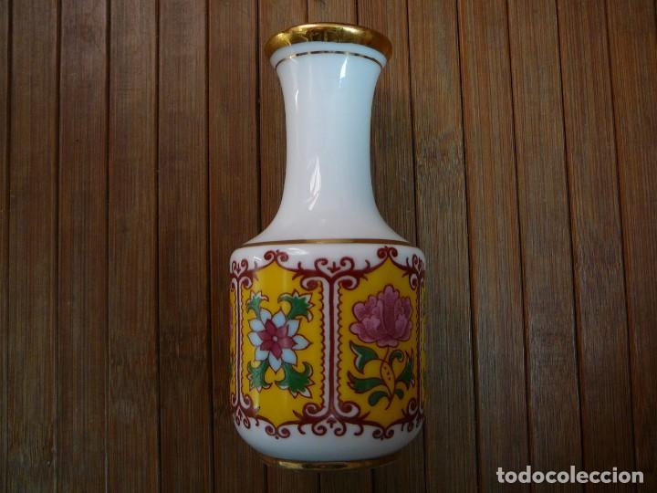 Antigüedades: Jarrita recuerdo de Zaragoza Virgen del Pilar - Foto 5 - 137892858
