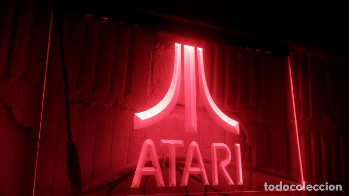 Letrero Luminoso Para Sala De Juegos Atari Comprar Objetos De