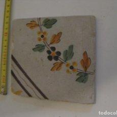 Antigüedades: RARO AZULEJO CATALAN . Lote 137922290