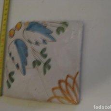 Antigüedades: RARO AZULEJO CATALAN . Lote 137922470