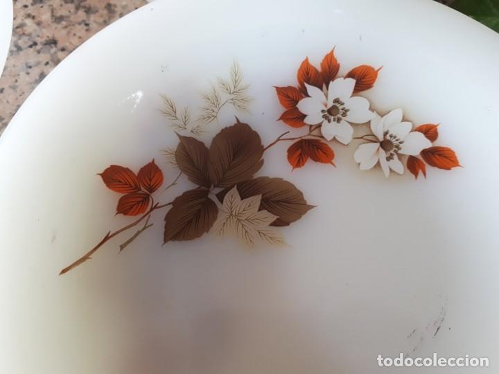 Antigüedades: antigua vajilla arcopal , flor de almendro - Foto 10 - 137925442