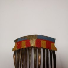 Antigüedades: ANTIGUA PEINETA EN LATON. Lote 137927253