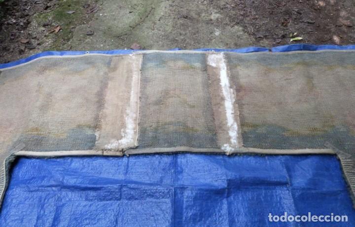 Antigüedades: ALFOMBRA DE NUDO DE DORMITORIO - Foto 8 - 137936682