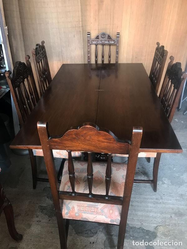 mesa de comedor estilo renacentista tipo libro - Kaufen Antike ...