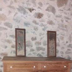 Antigüedades: COMODA CAMPERA DECAPADA FINALES DEL XIX. Lote 137955842