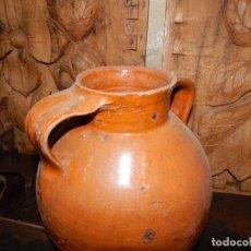 Antigüedades: ANTIGUA ORZA PARA ACEITE?... CERAMICA VIDRIADA--- BUENAS CONDICIONES. Lote 137962258