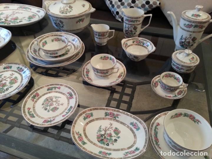 Antigüedades: Despiece vajilla Pontesa porcelana - Foto 2 - 152296793