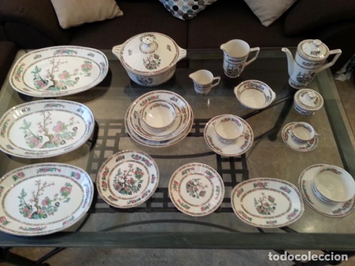 Antigüedades: Despiece vajilla Pontesa porcelana - Foto 3 - 152296793