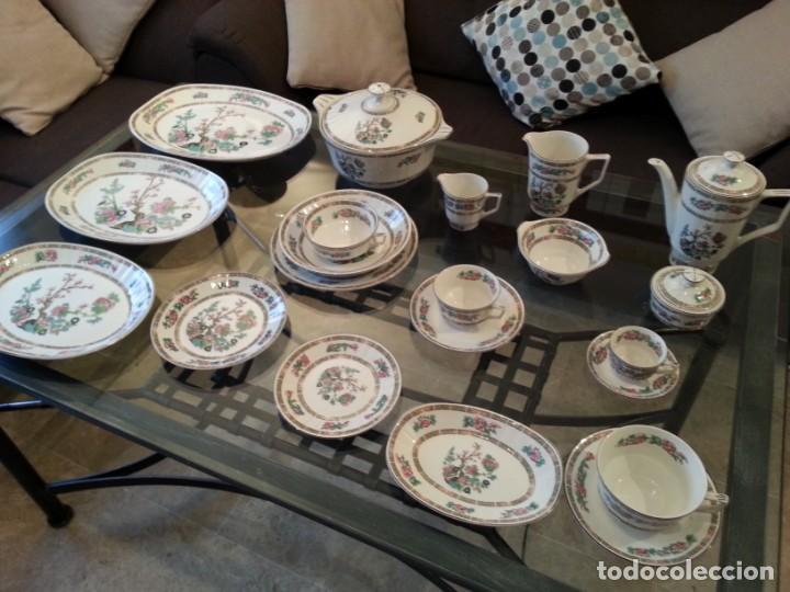 Antigüedades: Despiece vajilla Pontesa porcelana - Foto 4 - 152296793