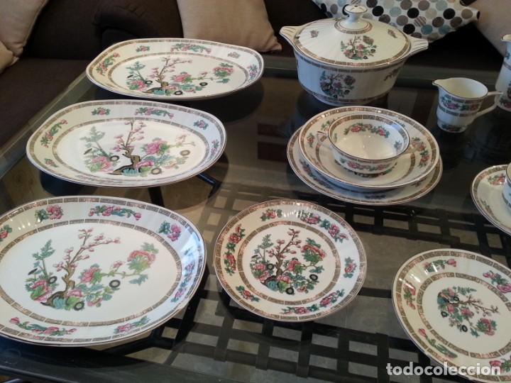 Antigüedades: Despiece vajilla Pontesa porcelana - Foto 5 - 152296793