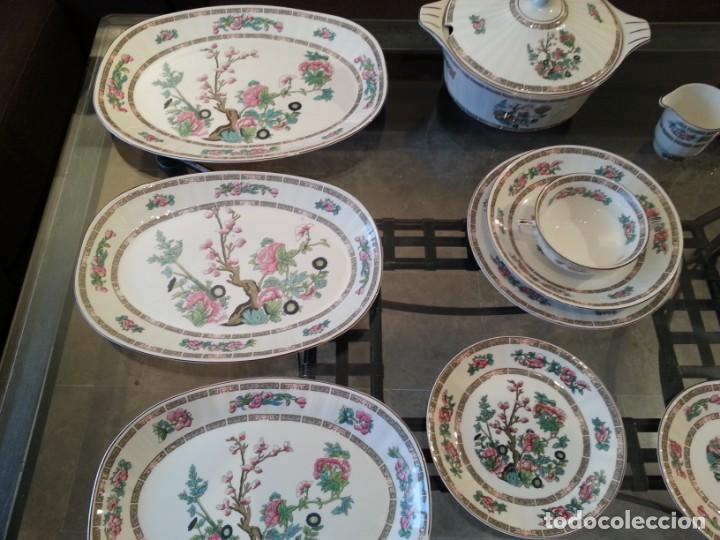 Antigüedades: Despiece vajilla Pontesa porcelana - Foto 6 - 152296793