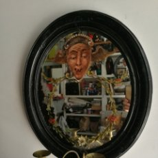 Antigüedades: PAREJA DE ESPEJOS ANTIGUOS. Lote 138034226