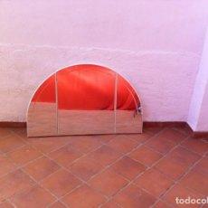 Antigüedades: ESPEJO LACADO EN BLANCO. Lote 138050078