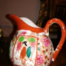 Antigüedades - Lechera de fina porcelana Japonesa cascara de huevo - 138051246