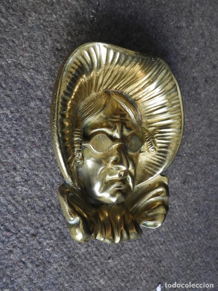 Antigüedades: CENICERO VINTAGE DE BRONCE - Foto 2 - 138055554
