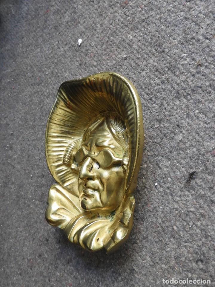 Antigüedades: CENICERO VINTAGE DE BRONCE - Foto 4 - 138055554