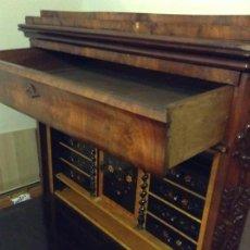 Antigüedades: MUEBLE- SECRETER. BIEDERMEIER. PRINCIPIOS DEL SIGLO XIX. Lote 138069078