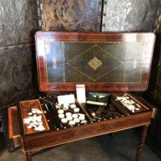 Antigüedades: MESA JUEGO FRANCESA SIGLO XVIII. Lote 138078782