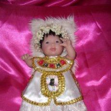Antigüedades: JESÚS-MUÑECA-MUÑECO-BEBÉ-REBORN-VINILO-GOMA-SILICONA-NUEVO-NAVIDAD-COMUNIÓN-NIÑO JESÚS-JESUCRISTO. Lote 138080442