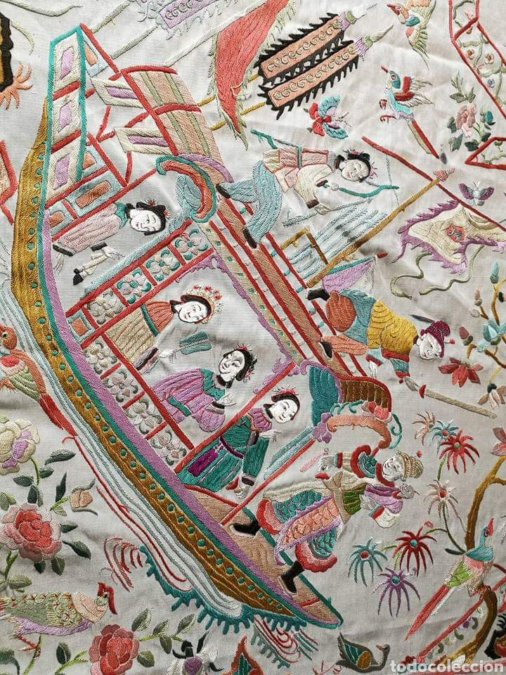Antigüedades: Maravilloso mantón antiguo - Foto 3 - 138082622