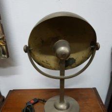 Antigüedades: LÁMPARA INDUSTRIAL VINTAGE. Lote 138099485