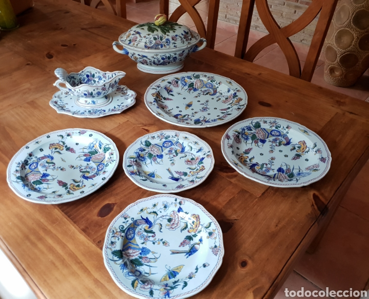 PORCELANA FRANCESA (Antigüedades - Porcelanas y Cerámicas - Algora)