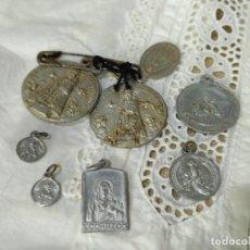 Antigüedades: LOTE DE OCHO MEDALLAS.. Lote 138106514