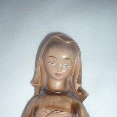 Antigüedades: FIGURA RELIGIOSA EN ESCAYOLA. Lote 138115210
