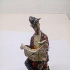 Antigüedades: FIGURA PORCELANA BISCUIT PERFECTO ESTADO. Lote 138117862