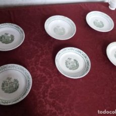 Antigüedades: VAJILLA CARTUJA PICKMAN SEVILLA. Lote 138134122