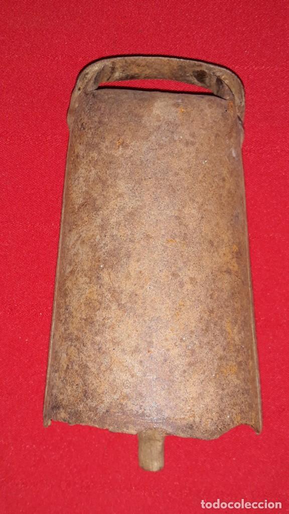 Antigüedades: CENCERRO BADAJO DE MADERA - Foto 3 - 138159382