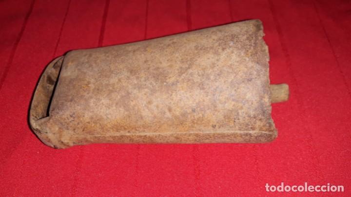 Antigüedades: CENCERRO BADAJO DE MADERA - Foto 5 - 138159382