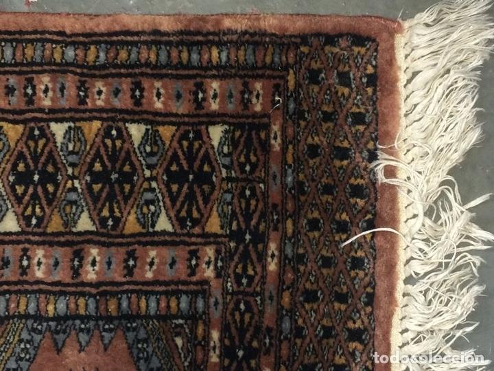Antigüedades: ALFOMBRA ORIENTAL. ESTILO BUKHARA. VISCOSA O SEDA. ORIENTE MEDIO. SIGLO XX - Foto 9 - 138165486