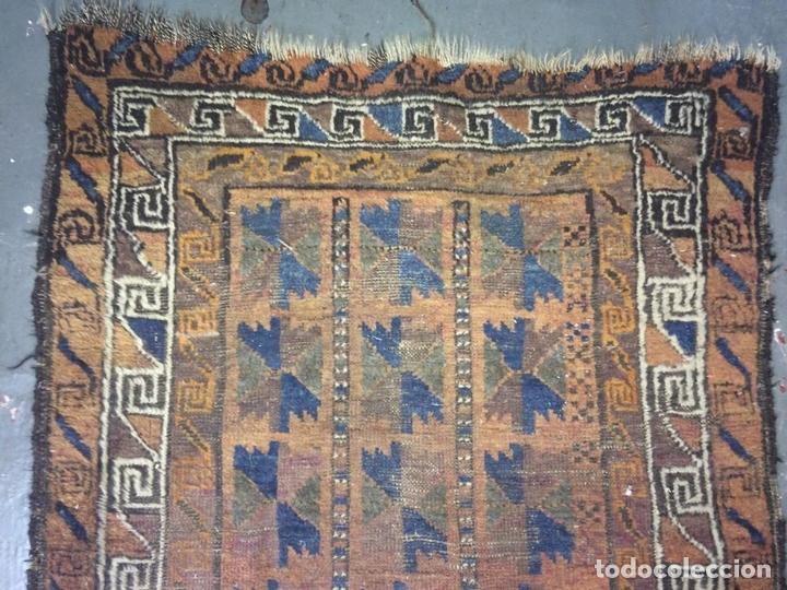 Antigüedades: ALFOMBRA DE ORACIÓN TURCOMAN HACHLI(?). LANA ANUDADA A MANO. TURKMENISTAN(?). XIX-XX - Foto 5 - 138181346
