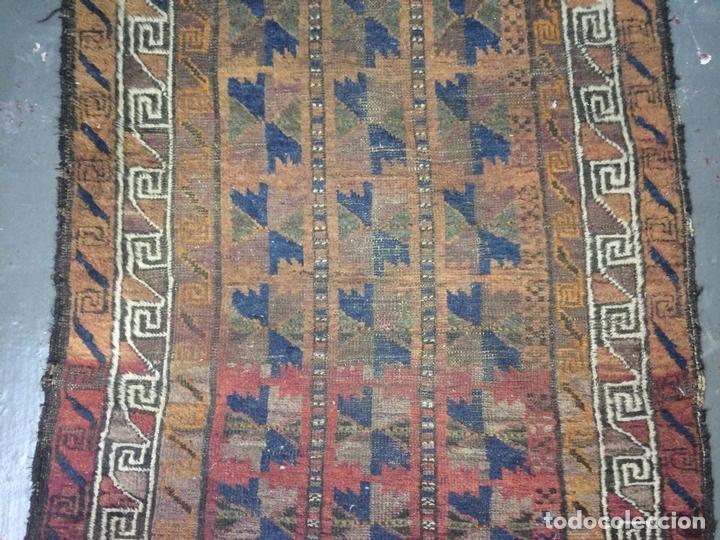 Antigüedades: ALFOMBRA DE ORACIÓN TURCOMAN HACHLI(?). LANA ANUDADA A MANO. TURKMENISTAN(?). XIX-XX - Foto 6 - 138181346