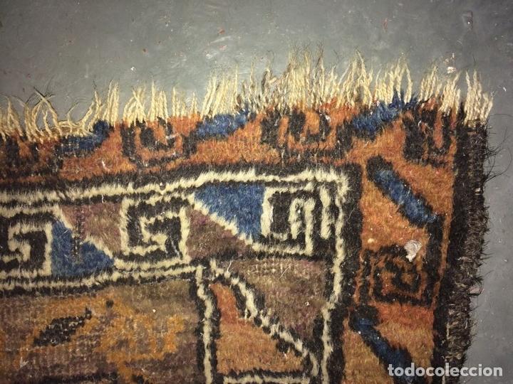 Antigüedades: ALFOMBRA DE ORACIÓN TURCOMAN HACHLI(?). LANA ANUDADA A MANO. TURKMENISTAN(?). XIX-XX - Foto 7 - 138181346