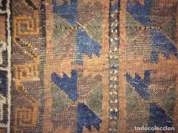 Antigüedades: ALFOMBRA DE ORACIÓN TURCOMAN HACHLI(?). LANA ANUDADA A MANO. TURKMENISTAN(?). XIX-XX - Foto 8 - 138181346