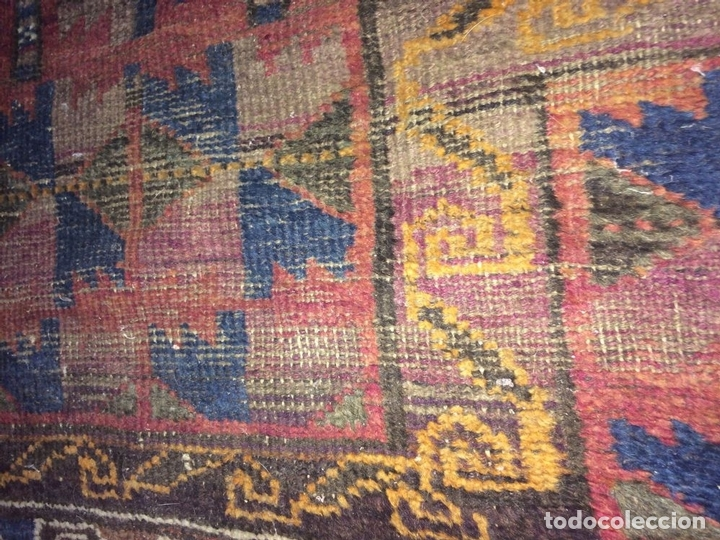 Antigüedades: ALFOMBRA DE ORACIÓN TURCOMAN HACHLI(?). LANA ANUDADA A MANO. TURKMENISTAN(?). XIX-XX - Foto 11 - 138181346