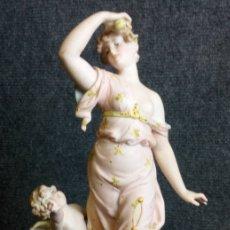 Antigüedades: PORCELANA FIRMADA SIGLO XIX.. Lote 137943294