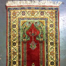 Antigüedades: ALFOMBRA KAYSERI. SEDA Y ALGODÓN. TURQUIA. SIGLO XX. Lote 155954808