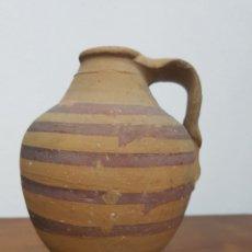 Antigüedades: JARRÓN BARRO VINTAGE. Lote 138203210