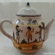 Antigüedades: JARRA DE CERÁMICA CATALANA, SIGLO XVIII. Lote 138329322