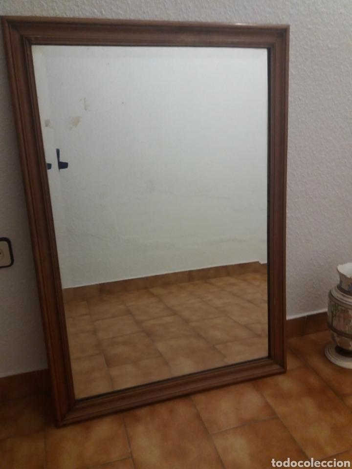 Antigüedades: ESPEJO BISELADO TAMAÑO 100x70 cm - Foto 2 - 138401596