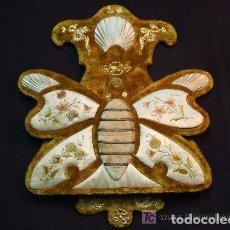 Antigüedades: MARIPOSA MODERNISTA PARA PONER CARTAS. Lote 138554842