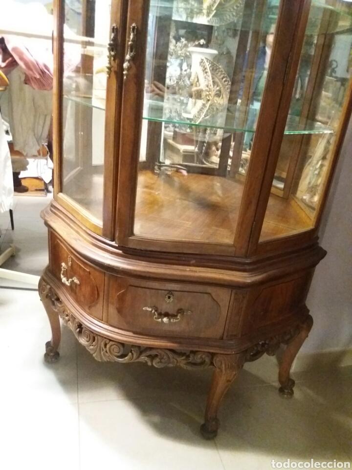Antigüedades: MUY BONITA VITRINA ANTIGUA - Foto 4 - 138555181