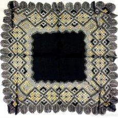 Antigüedades: 6 PAÑUELOS DE DAMA. SEDA. FINO ALGODÓN. ENCAJES MANUALES. ESPAÑA. XIX-XX. Lote 138564070