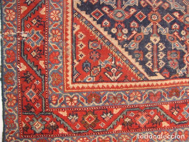 Antigüedades: Antigua alfombra Iran. Rinegoum - Foto 5 - 138576202