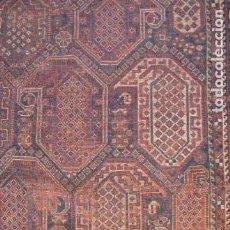 Antigüedades: ANTIGUA AFOMBRA PERSA NUDOS. BOTEB. SHIRVAN. Lote 138577278