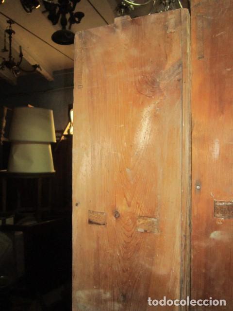 Antigüedades: Bonita estantería pintada al agua en tono verde. - Foto 3 - 138583366